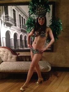 sophie mei, bikini, samba dancer, mama mei