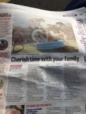 Yorkshire Evening Post Family column
