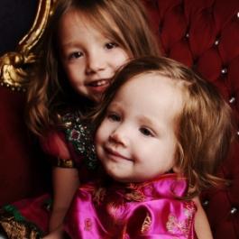 arianna and jasmine hale mixed race kids oriental
