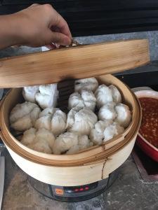 chinese pau dumplings streetfood