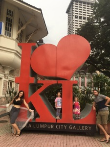 KL Kuala Lumpur museum I love KL sign