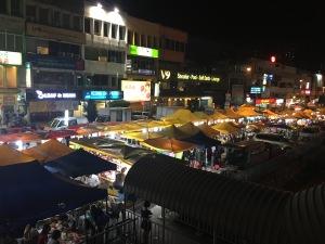 night market kuala lumpur malaysia