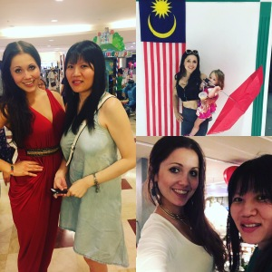 malaysian flag family time in kuala lumpur hilton hotel klcc