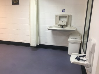 family changing area rooms