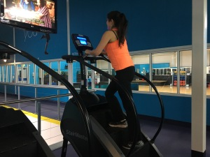 stepping machine total fitness gym mama mei sophie mei lan