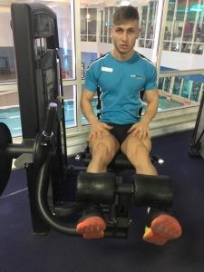 gym instructor demonstration total fitness