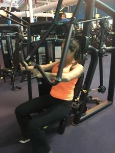 total fitness gym gymnasium workout girl