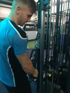 gym workout arms