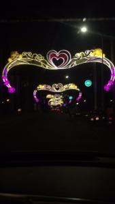 ho chi minh lights at night vietnam new year