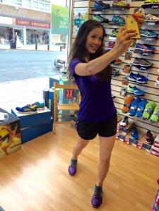 up and running sophie mei lan mum runner sport exercise mama mei