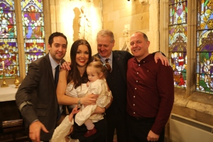 gay dads christening baptism chantry chapel