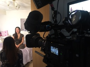 filming for BBC tv parenting expert mum blogger mother blog motherhood