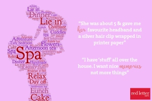 red letter days #rlmums what do mums really want
