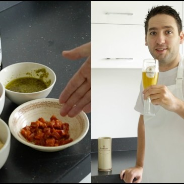 krombacher beer four ingredient recipe chorizo and butter bean stew chris hale pop up north food